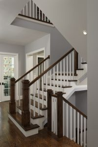 Meridian Homes - Stairwell in Foyer