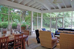Meridian Homes - Screened-In Porch Addition in Gaithersburg