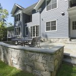 Arts And Crafts Styling With A Modern Flair In Bethesda - Completed Exterior - Rear Patio